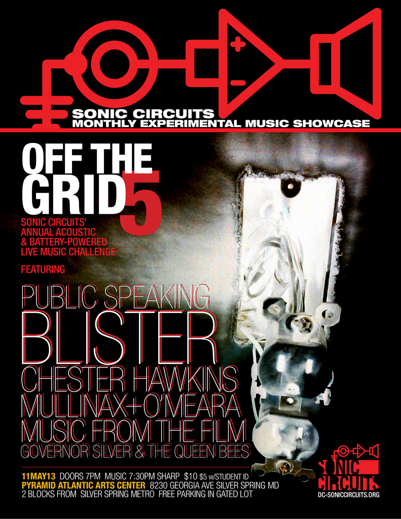 off the grid flier