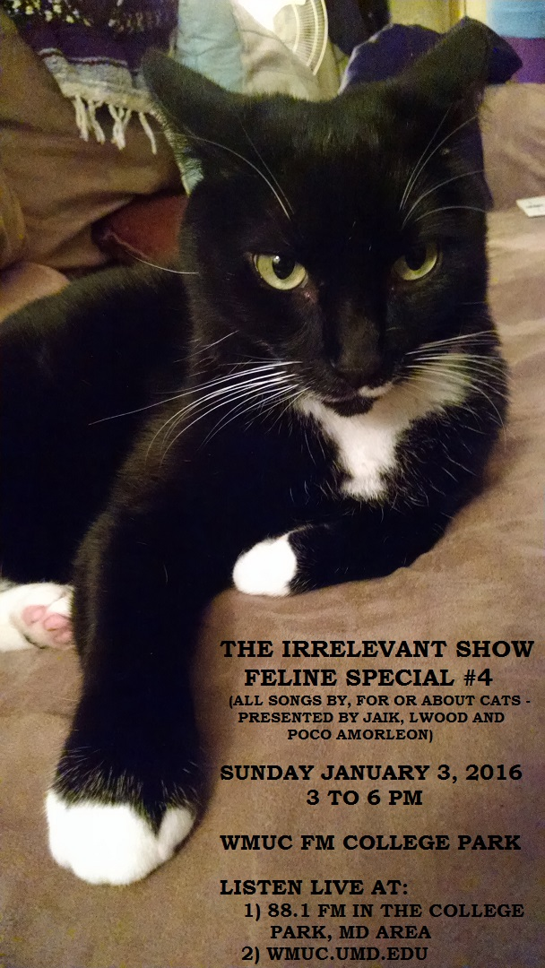 The Irrelevant Show Archives 2016 Musicfromthefilm Net